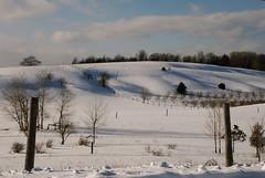 Winter in the Leelanau Peninsula by John Levanen