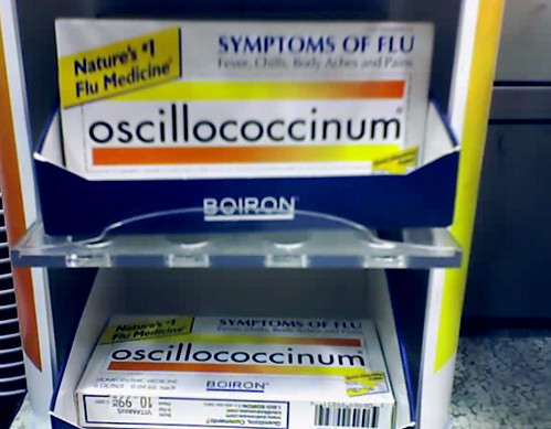 Oscillococcinum sugar pill packaging