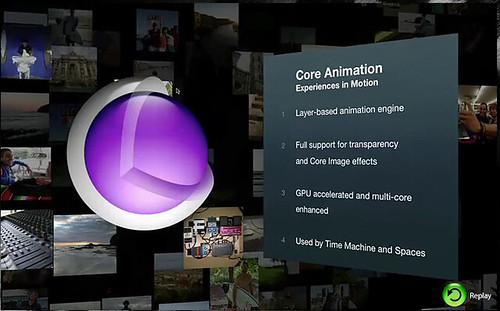 Mac OS X Leopard Core Animation