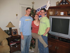 Jacob, Steph, and Ronald