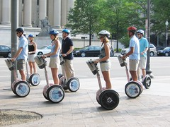 A Scattering of Segways by Greg McElhatton