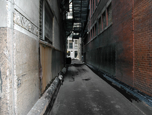 Alleys are life, embodied