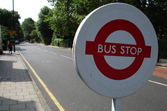 Bus stop by Ti.mo on Flickr