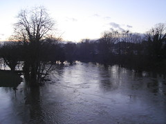 Floods in Llansantffraid 2