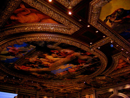 Ceiling of the Venetian Valet