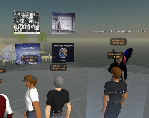 Point de départ : Les Humains Associés - Second Life