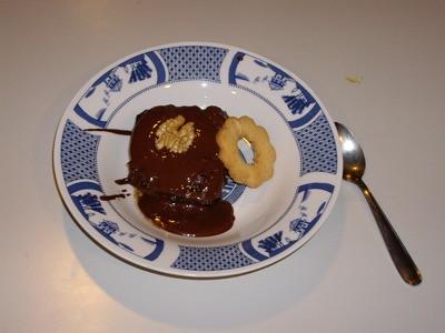 Mi ración de brownie!
