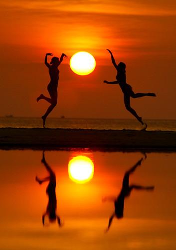 Paradise Island dance...