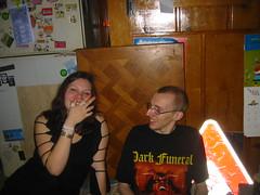 20070113 - Clint's 33rd Birthday party - 109-0958_Karen, John The Canadien