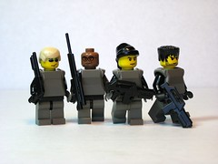LEGO Gears of War Minifigs
