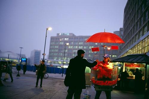 seeing in Berlin 2007 - sausage man