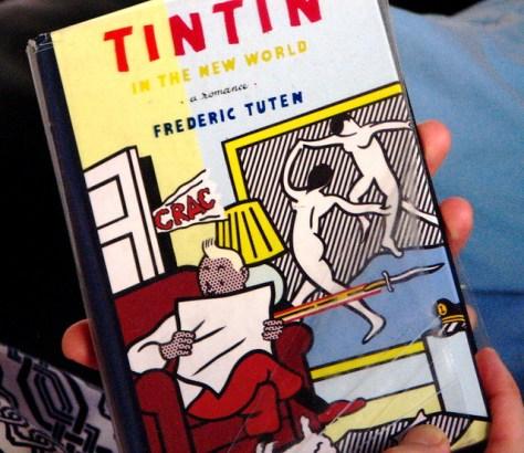 tin tin, the novel