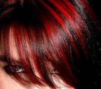 What color streaks would go better with red hair? | Yahoo ...