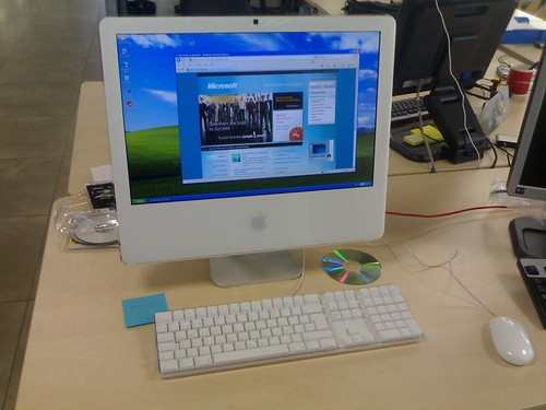 imac with Windows XP