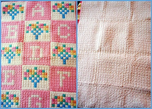 thrifting 03-23 baby quilt