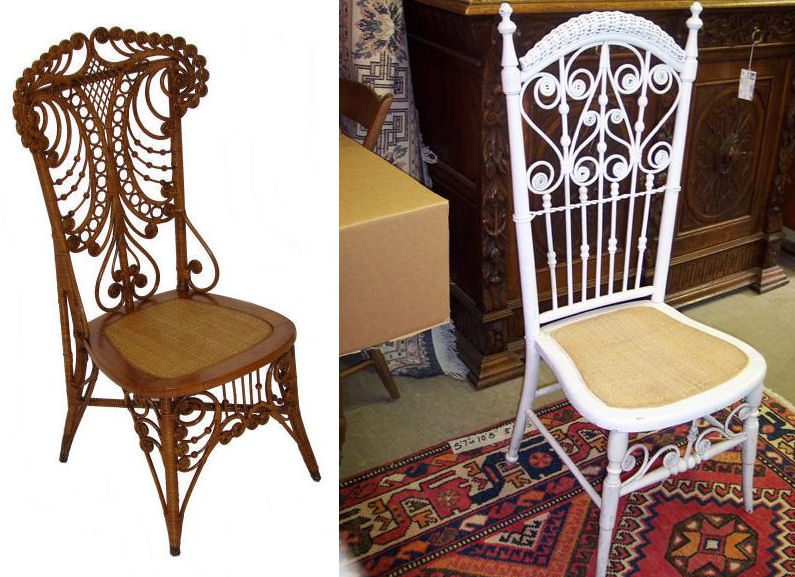 heywood wakefield wicker chairs wood chair accessories victorian and i walked decor8