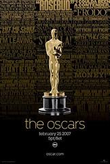 Cartel Oficial Oscars 2007