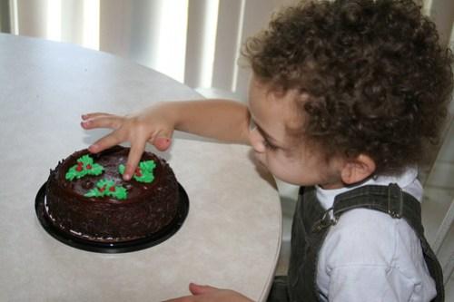 Mmm, Birthday Cake!