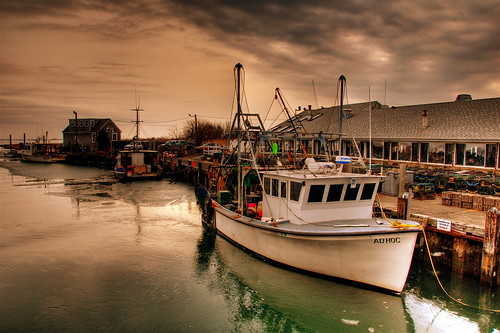 Lobster Boat by Slack