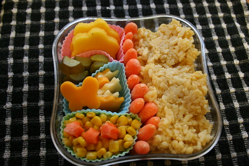 April 4, 2007 - My first bento box!