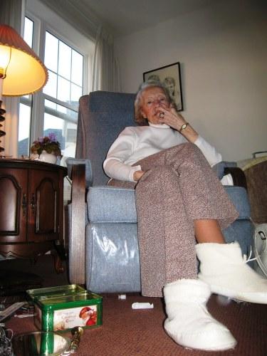 Contemplating Grandma