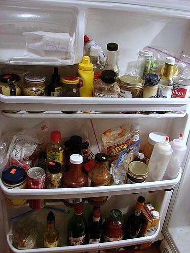 shit in my fridge door, 1/10/07