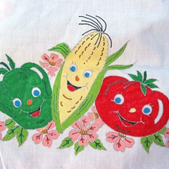 Vegetable tablecloth 2