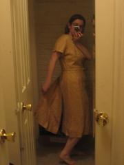 back flap 40s dress