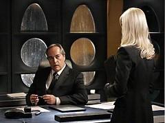 Vicepresidente y su rubia asistente