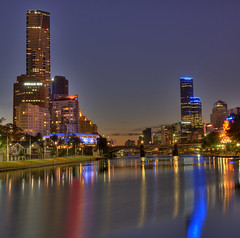Melbourne City Scape by Andrew Hux