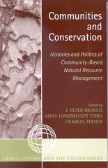 Conmmunities and conservation