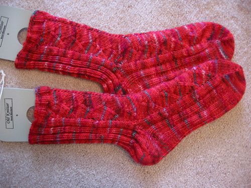 Wyvern Woman Socks