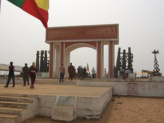 Gate of No Return, Ouidah, Benin