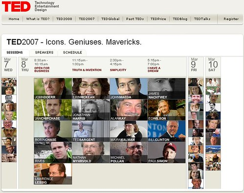 TED2007 Program