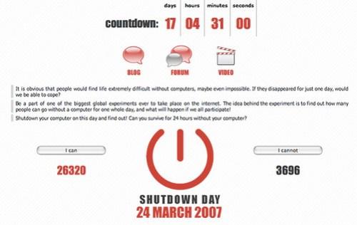 Shutdown Day