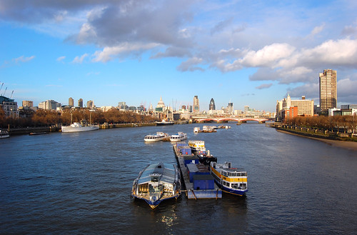 The Thames, from Waterloo Bridge