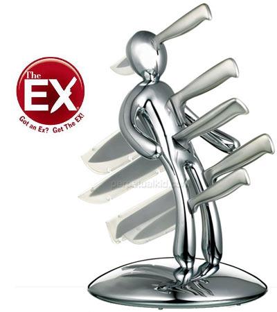 Das Exfreunde Exfreundinnen Messer Set