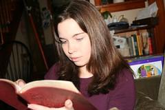 Jessica Studies the ESV