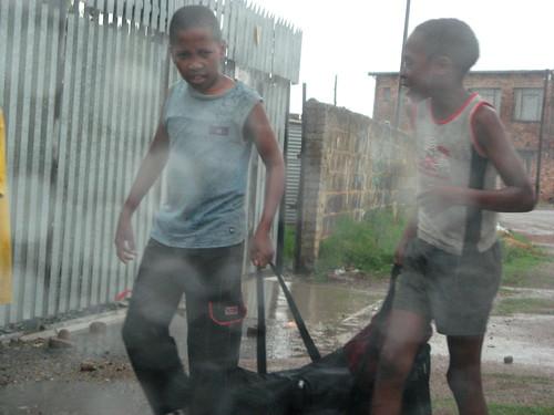 Raining in Soweto