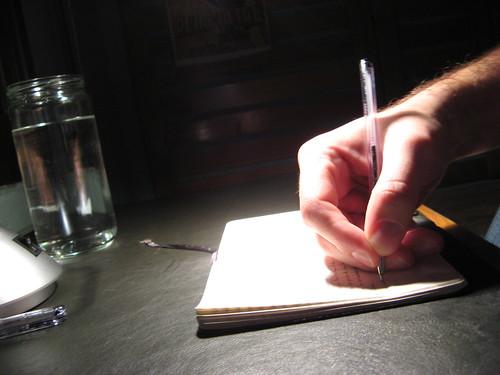 saturated writing by tnarik.
