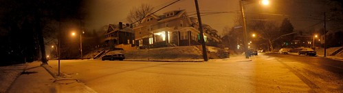 Shady Avenue at a corner