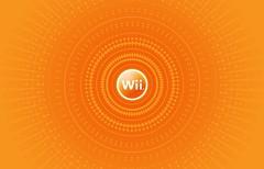 wiimote circle - orange