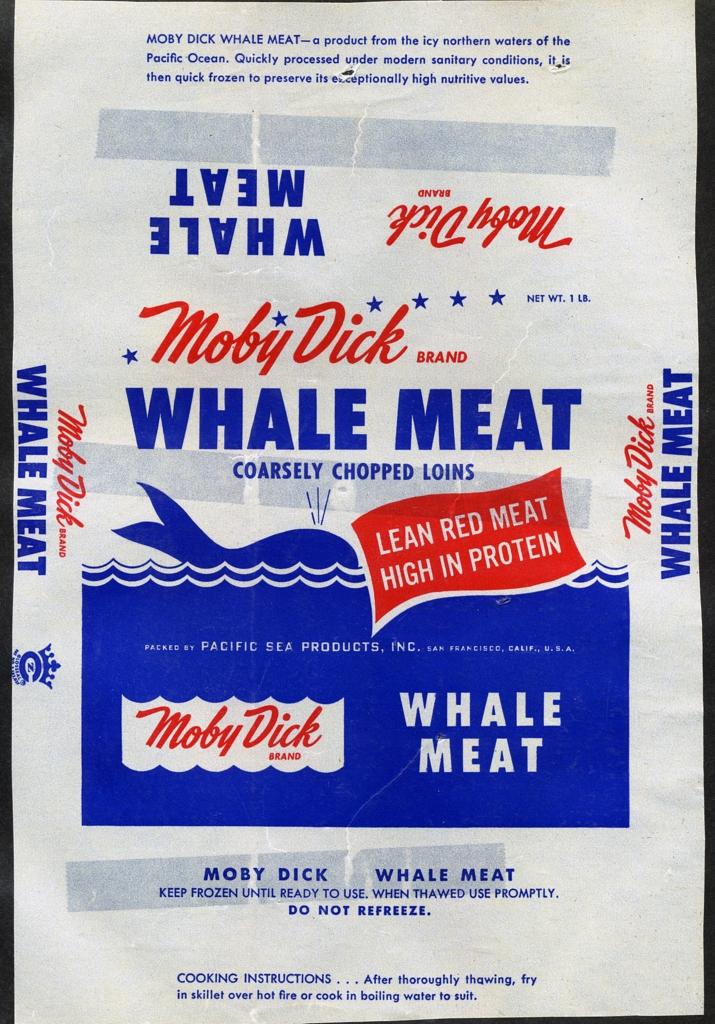 kqedquest, Moby Dick whale meat, 1. März 2007