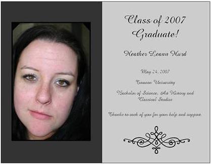 Grad Announcement