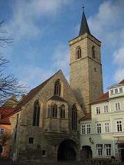 Aegidienkirche Erfurt Germany