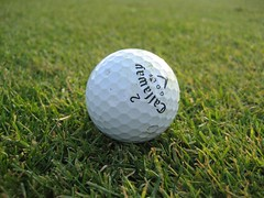 golf ball, at Ruth Lake Country Club