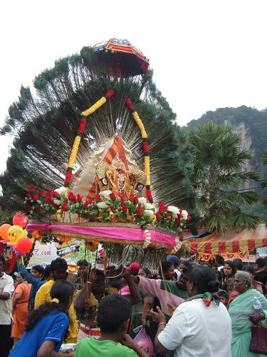 Peacock-Feather Themed Kavadi