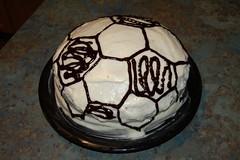 Soccer Ball Birthday Cake