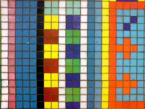Smalti vitreous tile tesserae mosaic terms for Mosaic painting meaning