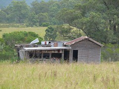 Derelict House at Riverwood Downs Resort